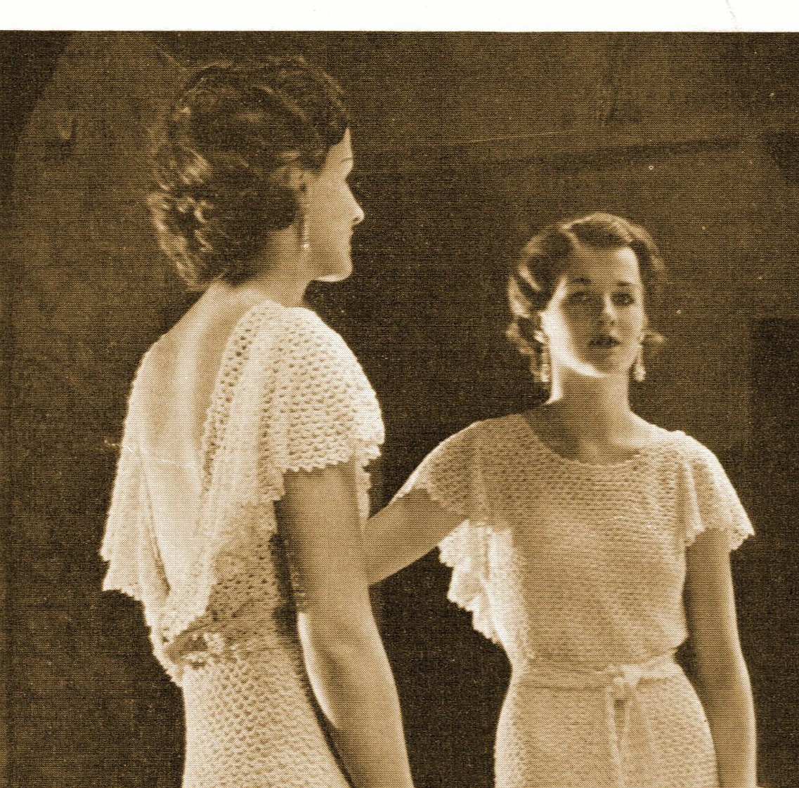 1930s backless evening gown or wedding dress with short for Prom dresses that look like wedding dresses