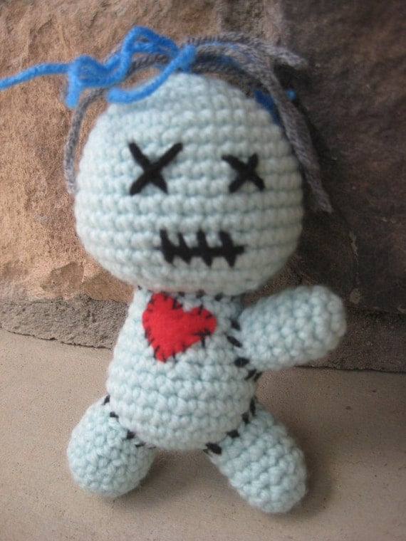 Knitting Pattern Voodoo Doll : Crochet Voodoo Doll