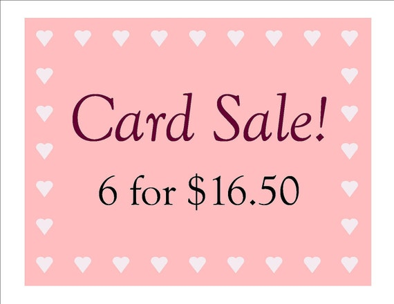 handmade greeting cards for sale handmade greeting card sale any six individual cards by 4184