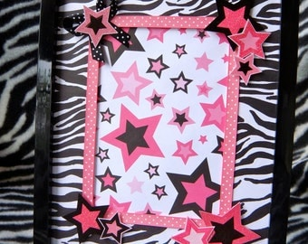 Superstar 8x10 Star Picture Frame with 5x7 Matte