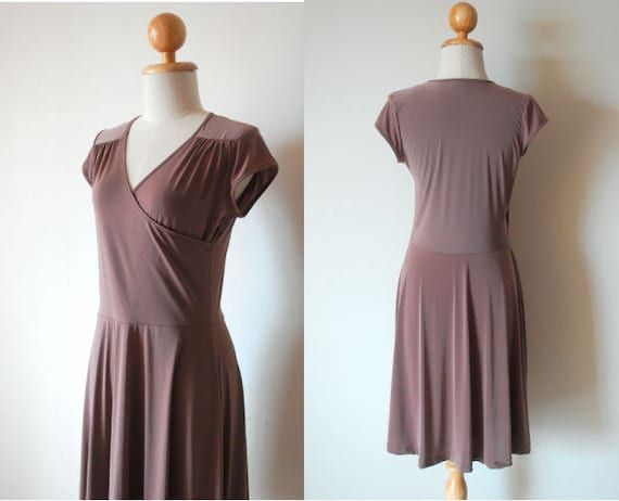 Day to Night Dress, Loose Dress, Classic Dress, Work Dress, Midi Dress