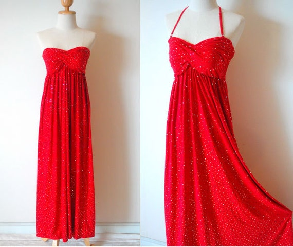 Glamourous Red Maxi Dress