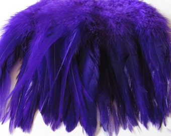 Rooster Saddle Hackle - Purple