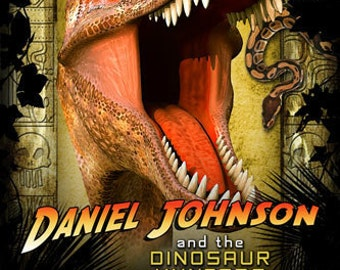 Dinosaur / Indiana Jones Birthday Invitations CUSTOM