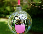 Give a Hoot-Handpainted Owl Ornament