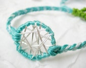 Dream Catcher Bracelet - Mint Green - FancifulChaos
