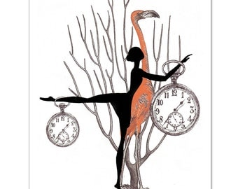 What Time is it 4 - ART Print 8 x 10""