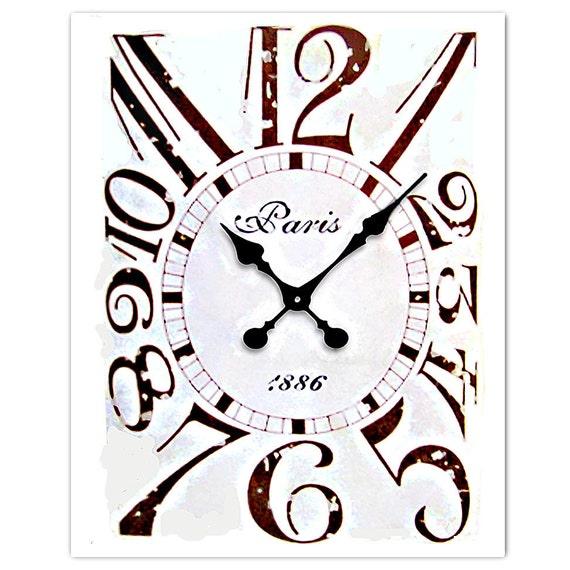 "Vintage CLOCK - ART Print 8"" x 10"""
