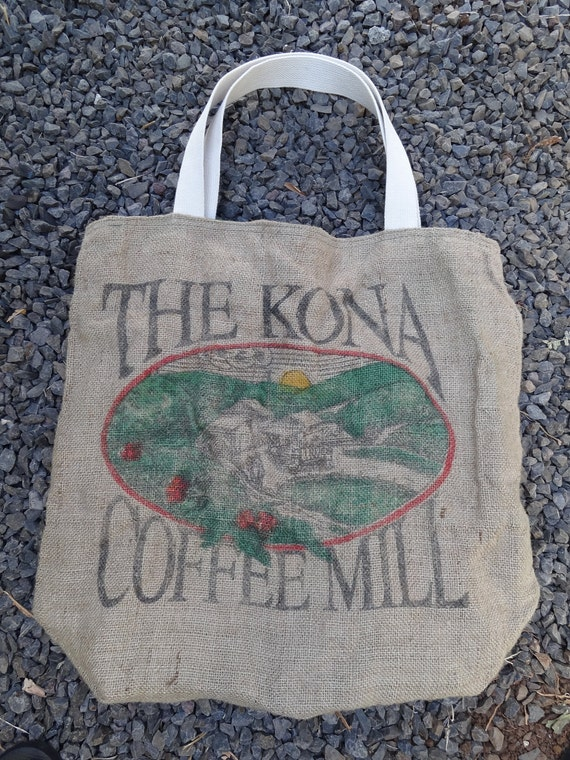 Kona Coffee Market Tote Bag