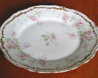 "Theodore Haviland China Salad Plate ""The Ardennes"" Pattern"