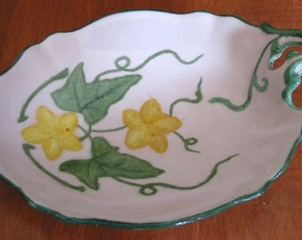 Lovely Handpainted B & Co Limoges Candy Dish
