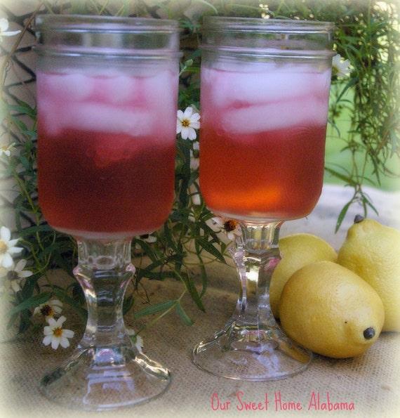 items similar to redneck wine glasses set of 4 large mason jar beer iced tea or lemonade. Black Bedroom Furniture Sets. Home Design Ideas