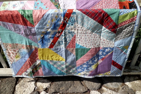 Vintage Backed Lap Quilt