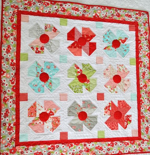 Livee's Garden Quilt Pattern