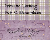 Private Listing For C. Richardson