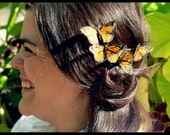 Flicker- butterfly swarm hair comb