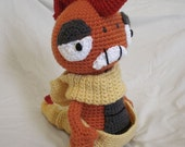 Scrafty Crochet Pokemon