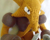 Ready to Ship - Alakazam Crochet Pokemon