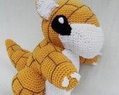 Sandshrew Crochet Pokemon