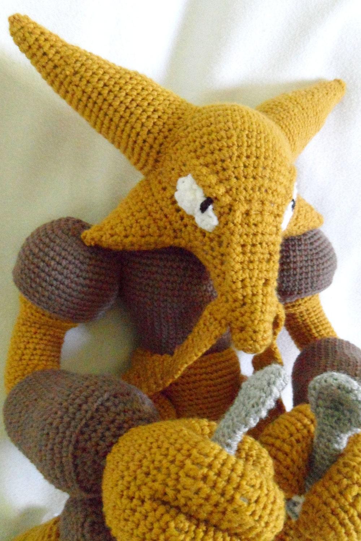 Alakazam Crochet Pokemon Ready - 362.2KB