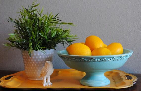 Dish -Blue Decorative