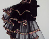 Burlesque bustle belts Tartan all sizes available at checkout