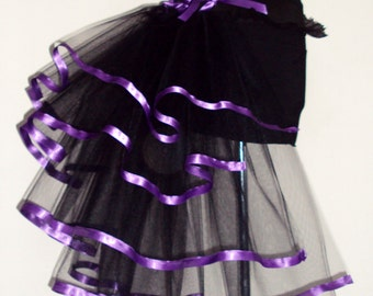 Burlesque bustle belt Purple all sizes available at checkout