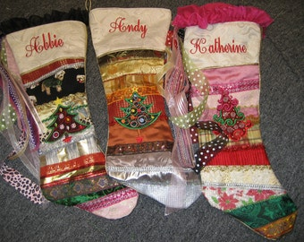 Custom Handmade Christmas Stocking