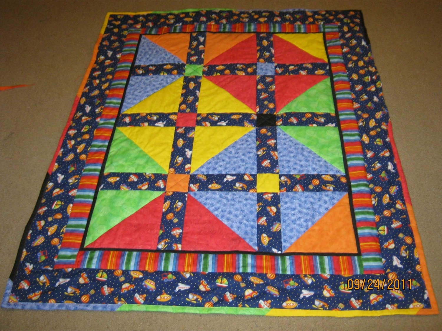The Quick Gift Quilt Pattern Small Child Version Beginner