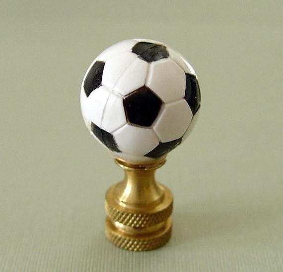 Soccer Ball Lamp Australia: Sports Soccer Ball Lamp Finial
