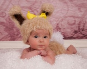 Baby Bunny Hat and Diaper Cover