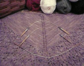 ChiaoGoo 2009-9 inch Sizes 0 thru 9 ChiaoGoo Bamboo Circular  Knitting Needles