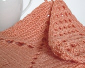Crochet Potholders in pastel colors