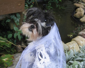 Corpse Bride One of a Kind Dog Halloween Costume size Medium