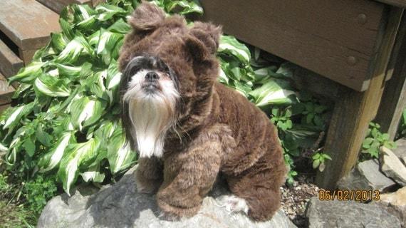 Teddy Bear or Bear Dog Halloween Costume Size Medium