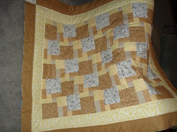 Quilt Patterns Chicken Scratch : SALE Chicken Scratch Quilt by SewcialStudies101 on Etsy