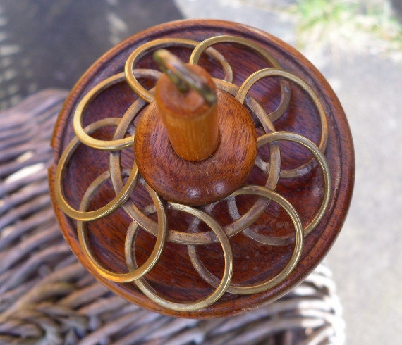 Unusual Handmade Vintage Drop Spindle