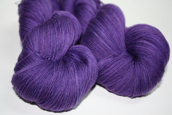 Pure Cashmere Lace Yarn Hand dyed Cashlace Munstead