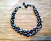 Black Bauble Necklace