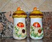 Merry Mushroom salt and pepper shakers