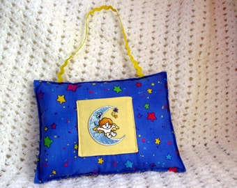 Celestial Moon Child Tooth Fairy Pillow