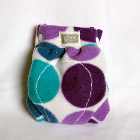 Newborn fleece diaper cover