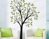 Large Tree Wall Decal Nursery Stickers Living room Bedroom Removable Vinyl Wall Sticker Decals Wall Art Home Decor Nature DIY