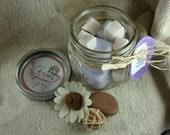 Lavender & Vanilla Solid Sugar Scrub
