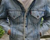 Levi's jean jacket - winter coat