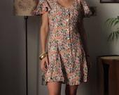 Grunge Floral dress