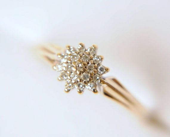 Reserved Reserved Vintage 1970s 0 12ct Diamond