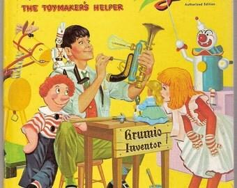 Walt Disneys Babes in Toyland The Toymakers Helper Vintage Top Top Tale Book Illustrated by Al Andersen