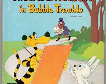 CRUSADER RABBIT in Bubble Trouble Vintage Whitman Top Top Tale Illustrated by Robert Bemiller and Jan Neely