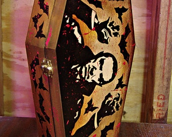 Dracula Coffin Jewlery Box